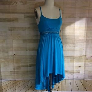 NWT no boundaries Hi/Low Dress w/ Knotted Waist